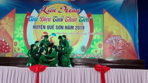 Bế mạc Liên hoan Giai điệu Tuổi thân tiên huyện Quế Sơn năm 2019
