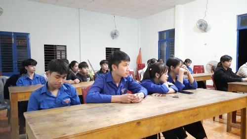 Chi đoàn thôn Phương Nghệ tổ chức sinh hoạt chủ điểm tháng 01/2021