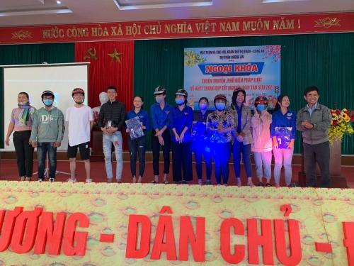 Hương An tổ chức tuyên truyền về an ninh trật tự