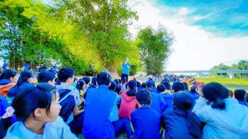 Trải nghiệm thực tế phòng tránh tai nạn thương tích, đuối nước cho trẻ em tại địa bàn dân cư