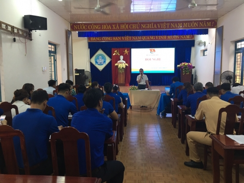 Huyện đoàn Quế Sơn tổ chức Hội nghị tổng kết  Tháng Thanh niên năm 2021