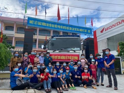 Huyện Quế Sơn hướng về TP Hồ Chí Minh, cùng nhau chung tay vượt qua dịch bệnh Covid-19!