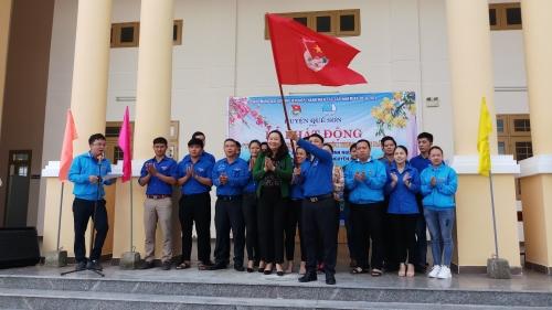 """Lễ phát động """"Tuổi trẻ Quế Sơn nhớ lời di chúc  theo chân Bác"""" và khởi động Năm Thanh niên tình nguyện 2019"""