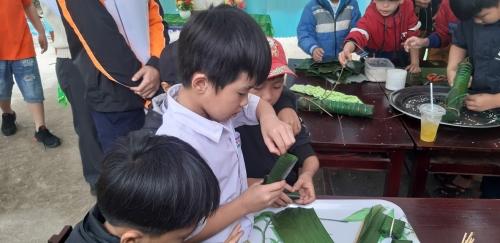 Quế An: Hoạt động trải nghiệm cho học sinh Tiểu học chủ đề Tết cổ truyền