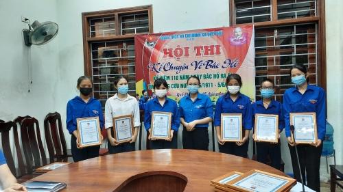 Quế Phú tổ chức Hội thi kể chuyện nhân kỷ niệm 110 năm Ngày Bác Hồ ra đi tìm đường cứu nước