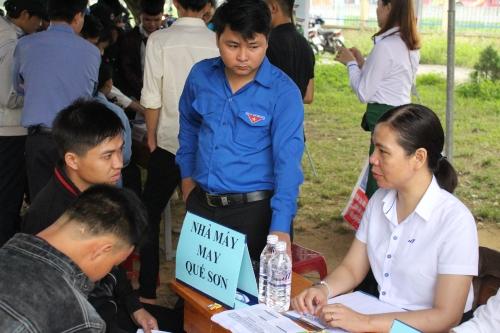 Quế Sơn: Tổ chức Sàn giao dịch, tư vấn giới thiệu việc làm lần thứ I năm 2018