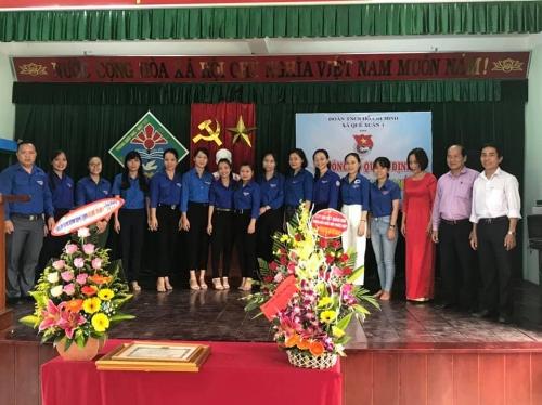 Quế Xuân 1: Ra mắt chi đoàn trường Tiểu học