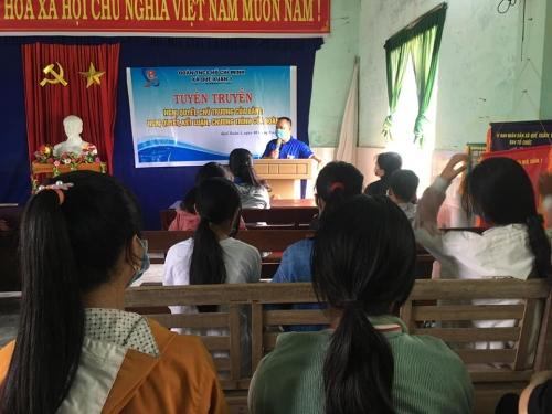 Quế Xuân 1 tổ chức học tập, quán triệt, tuyên truyền Nghị quyết và các văn bản của Đảng, Đoàn năm 2021