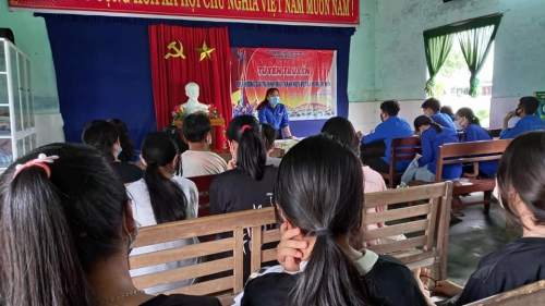 Quế Xuân 1 tổ chức triển khai thực hiện việc đăng ký xây dựng giá trị hình mẫu thanh niên Việt Nam trong thời kỳ mới năm 2021