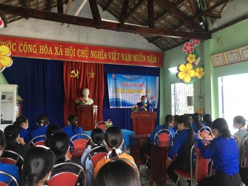 Quế Xuân 1 tổ chức tuyên truyền nâng cao kiến thức về hội nhập quốc tế năm 2021