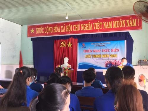 Quế Xuân 1 tổ chức tuyên truyền, triển khai Luật thanh niên 2020
