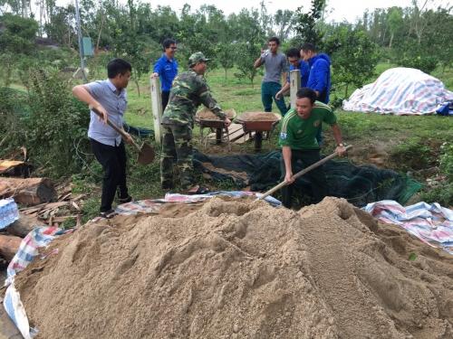 Ra quân xây dựng công trình thanh niên cấp huyện năm 2021