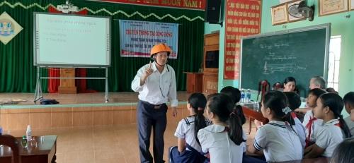 TH Đông Phú: truyền thông về phòng tránh tai nạn thương tích, xâm hại tình dục trẻ em và dịch bệnh Covid 19