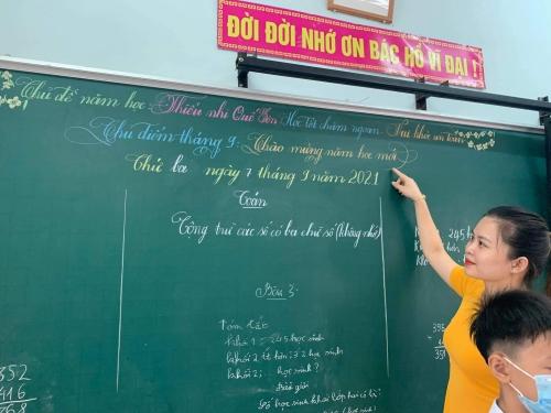 Tiểu học Đông Phú: Triển khai chủ đề năm học 2021 - 2022