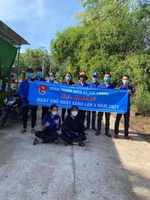 Tuổi trẻ huyện nhà đồng loạt tổ chức Ngày Chủ nhật xanh  lần thứ 4 năm 2021